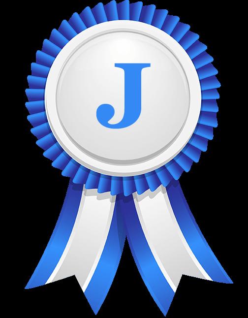 Niebieska ikona nagrody